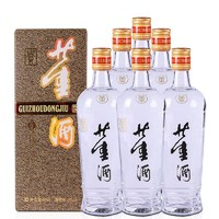 酒厂自营整箱6瓶老贵董酒54度500ml董香型高度白酒纯粮固态酿造