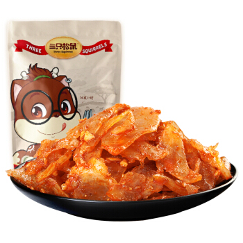 Three Squirrels 三只松鼠 香板筋 90g
