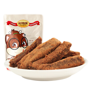 Three Squirrels 三只松鼠 蜜汁猪肉条 90g