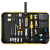 京東PLUS會員 : 賽拓(SANTO)0319 17件電烙鐵套裝 便攜式帆布包 電子電工焊接維修工具 *5件