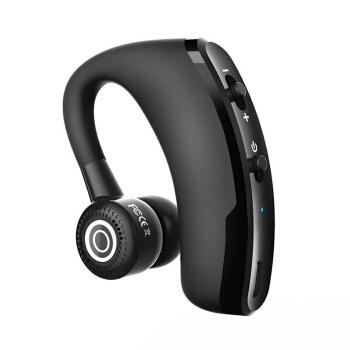 致奥(TOAIR)车载蓝牙耳机 无线通话 挂耳式 运动商务适华为oppo小米vivo苹果三星手机通用 A9黑色