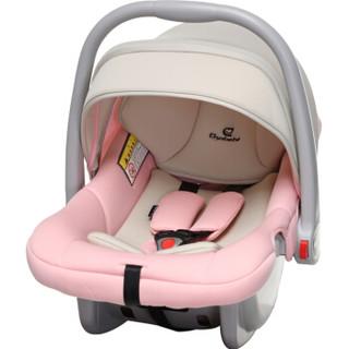 德国怡戈(Ekobebe) 婴儿提篮式儿童安全座椅EKO-007 米粉色