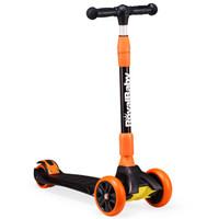 優貝 RoyalBaby兒童滑板車兒童玩具車2 3-6-14歲可調四輪踏板搖擺車可折疊 小精靈