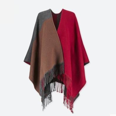 UNIQLO 优衣库 400759 女士披肩式围巾