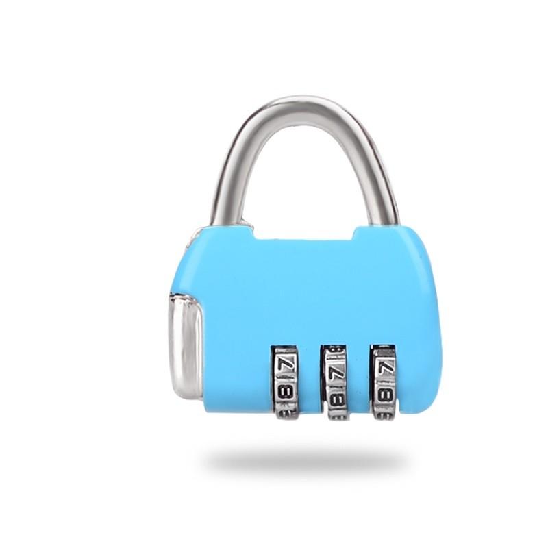酷易高 金属密码锁 三位款