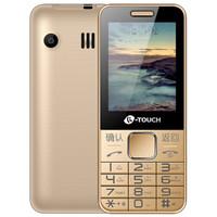 K-TOUCH 天語 E2 電信2G 直板按鍵老人手機  金色