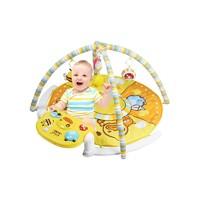B.Duck小黄鸭 新生婴幼儿脚踏钢琴健身架玩具