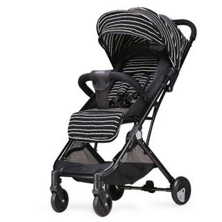 宝宝好 Y1 婴儿高景观推车 (黑色)