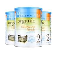 值友专享:BELLAMY'S 贝拉米 2段 有机奶粉 900克*3罐 *2件