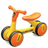 樂的Luddy嬰兒學步車滑行車兒童滑步車平衡車溜溜車寶寶學步單車嬰幼兒玩具車生日禮物防側翻 小黃鴨1-3歲