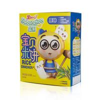 果仙多维V宝宝米饼零食无盐 儿童磨牙棒饼干原味50克