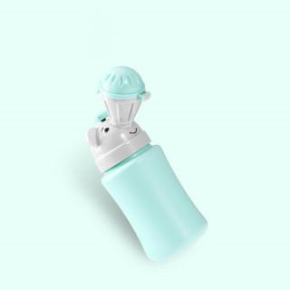 然雅(ONYA)儿童便携式小便器车载尿壶旅行马桶女宝宝坐便器男夜壶 F110BA-粉绿