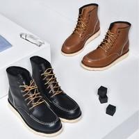 网易严选 1164014 男士工装皮靴