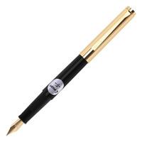 PILOT 百乐 AMS-17G3FB 22k包金钢笔 17g灌墨式 F尖 黑色