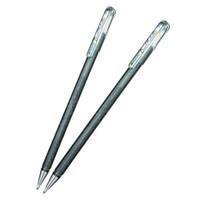 Pentel 派通 K110 金屬色珠光筆 1.0mm 銀色 2支裝 *7件