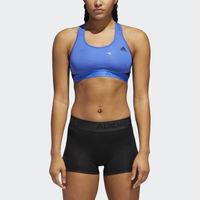 凑单品:adidas 阿迪达斯 Alphaskin BOStoss-Print 女士运动内衣