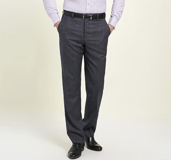 YOUNGOR 雅戈尔 YCXW36328DWY 男士羊毛修身西裤