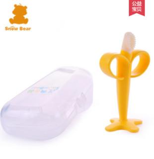 小白熊 09398 婴儿牙胶硅胶磨牙棒