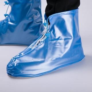 致富家 防水鞋套 粉/蓝