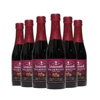 限上海:Lindemans 林德曼 山莓啤酒 250ml*6瓶 *3件