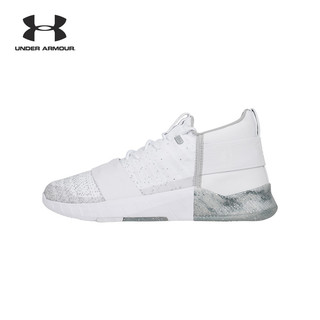 UNDER ARMOUR 安德玛 C1N Lux 3000325 男子训练鞋 (100白色、40.5)