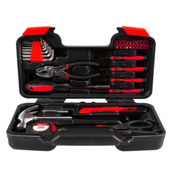 赛拓(SANTO)家用工具套装 工具箱组套40件套0379