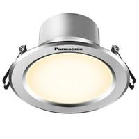 松下(Panasonic)NNNC75093 逸放系列家用小型金屬筒燈 5W銀框4000K *3件