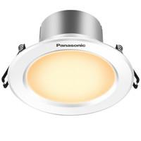 松下(Panasonic)NNNC75040 逸放系列家用小型金属筒灯 3W白框3000K