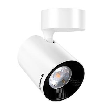 松下(panasonic)LED直装射灯灯柜台服装店客厅射灯过道走廊孔灯轨道灯NNNC76016白色7W 3000K吸顶式