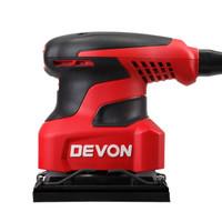 1日0点: DEVON 大有 2213 1/4工业级砂纸机 200W