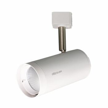 雷士照明(NVC)led轨道灯射灯导轨灯 COB光源大功率灯 背景墙家用展厅轨道灯 白色灯体12w中性光
