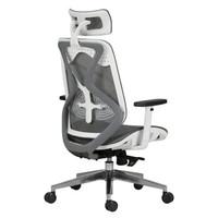 1日0点:Hbada 黑白调 HDNY140WG 人体工学电脑椅