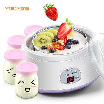 优益(Yoice)酸奶机 米酒机 家用全自动不锈钢内胆1L Y-SA10