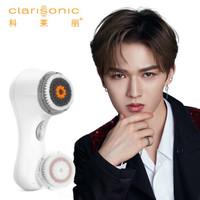 科莱丽(Clarisonic)洁面仪声波电动男士专用 去黑头毛孔清洁美容仪控油洗脸仪 欧莱雅 Mia2白色