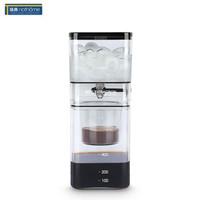 北歐歐慕 nathome 冰滴咖啡壺 雙層家用滴漏式咖啡壺 NBD01 茶色