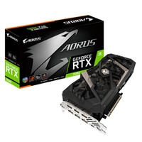 历史低价:GIGABYTE 技嘉 AORUS GeForce RTX 2080 8G 显卡