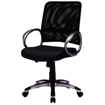 山业 人体工学家用电脑椅 透气网面办公椅 可升降转椅 (SNC-NET13ABK)