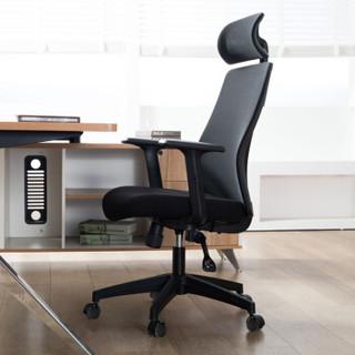 联丰(LIANFENG)电脑椅 办公椅 人体工学椅子家用转椅 DS-175C 黑