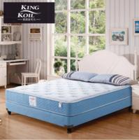 美國金可兒 乳膠床墊1.2m1.5米硬 7區獨立袋裝彈簧 席夢思兒童床墊 凱奇 凱奇 1.5米*2米*0.25米
