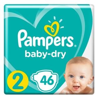 凑单品 : Pampers 帮宝适 婴儿纸尿裤 2号 46片