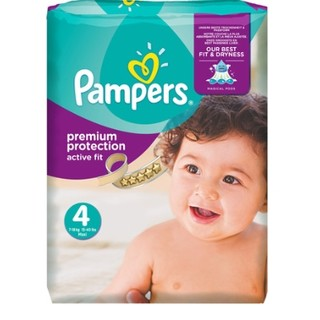 Pampers 帮宝适 Active Fit 紫帮 拉拉裤 4号 168片