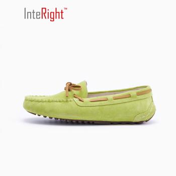 InteRight 1338 女士平底豆豆鞋