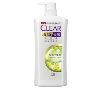 CLEAR 清扬 控油平衡 去屑洗发水 1KG