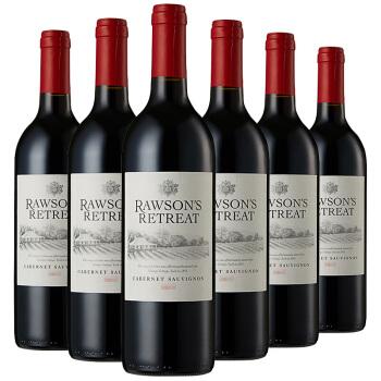 澳洲原瓶进口红酒 洛神山庄赤霞珠干红葡萄酒 750ml*6瓶 整箱装