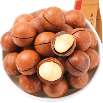 良品铺子 夏威夷果 奶香味  特产干果 坚果零食小吃 袋装奶香口味120g