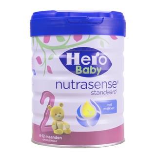 hero baby 白金版 婴幼儿配方奶粉 2段 700g