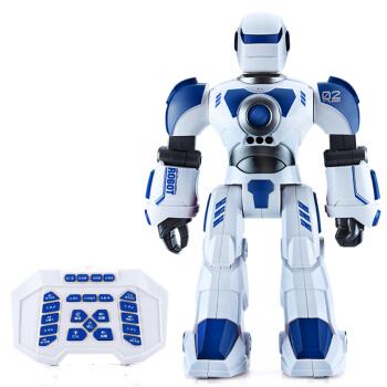 益米(YIMI)机器人智能遥控电动触摸感应儿童玩具声控可充电男女孩礼物 蓝