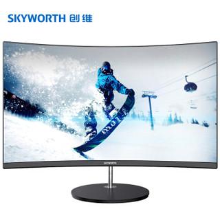 Skyworth 创维 27英寸三面微边框H1AF27C显示器(1800R、Freesync)