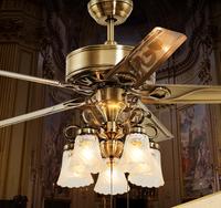 OPPLE 吊扇燈 風扇燈客廳餐廳臥室家用簡約現代帶LED風扇吊燈 鐵葉42寸歐靜帶遙控