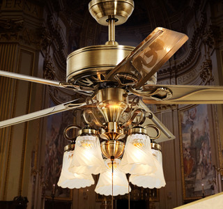OPPLE 欧普照明 吊扇灯 铁叶 42寸欧静带遥控
